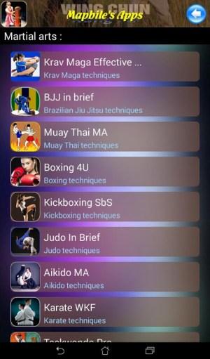 Android Wing Chun Kung Fu Screen 10