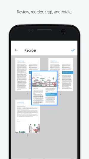 Adobe Scan: PDF Scanner, OCR 18.07.24 Screen 2