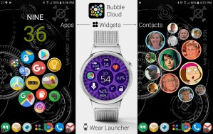 Bubble Cloud Tile Launcher Watchface (WearOS) 9.70 Screen 7