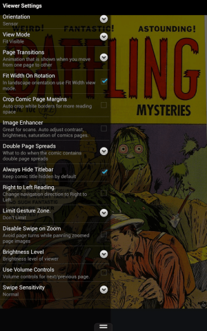 ComiCat (Comic Reader/Viewer) 2.42 Screen 6