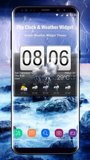 Android Local Weather Report Widget Screen 13