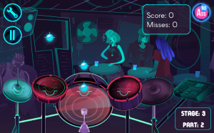 Electronic Drums Game 1.6c Screen 5