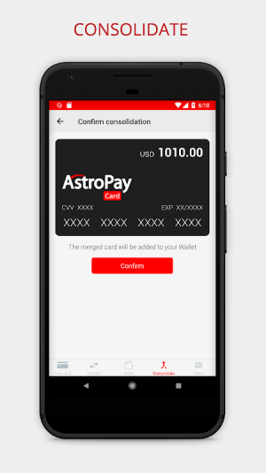 AstroPay Card 1.16 Screen 4