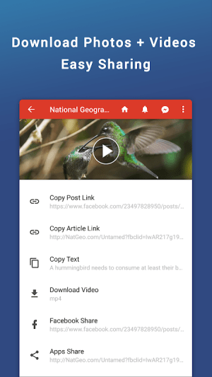 Friendly for Facebook 4.4.05 Screen 4