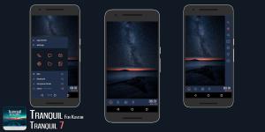 Tranquil for Kustom KLWP 2.1 Screen 2