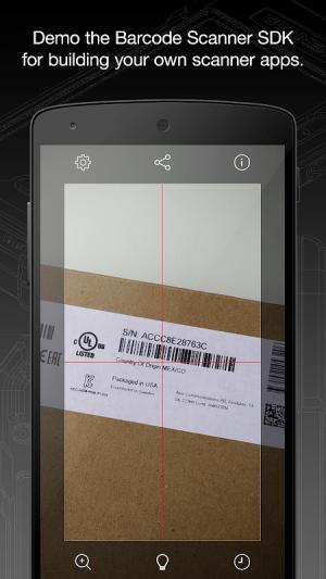 Barcode Scanner 4.2.5 (110) Screen 5