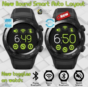 Bubble Cloud Tile Launcher Watchface (WearOS) 9.70 Screen 28