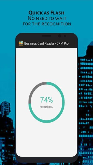 Android Business Card Reader - CRM Pro Screen 5