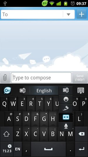 Android GO Keyboard Voice Changer Screen 1