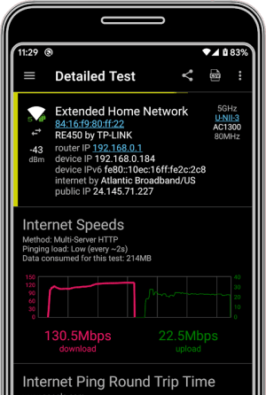 analiti - Speed Test WiFi Analyzer 9.0.25541 Screen 4