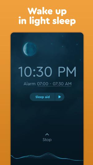 Sleep Cycle: Sleep analysis & Smart alarm clock 3.9.1.4456-release Screen 3