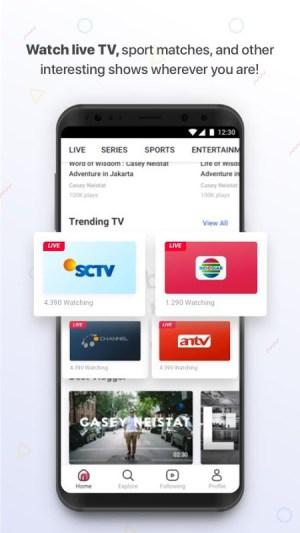Vidio - Nonton Video & TV Indonesia SCTV, Indosiar 3.0.4 Screen 3