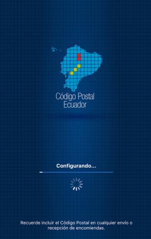 Código Postal Ecuador 1.2.2 Screen 1