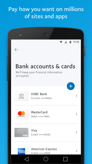PayPal 7.30.3 Screen 3