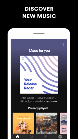 Spotify: Free Music and Podcasts Streaming 8.5.69.834 Screen 9