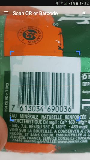 QR & Barcode Scanner 1.6.6 Screen 4