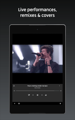 Android YouTube Music - stream music and play videos Screen 1