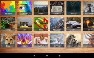 Android Ultimate Jigsaws Screen 8