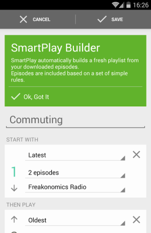 BeyondPod 4.1.44 Screen 17