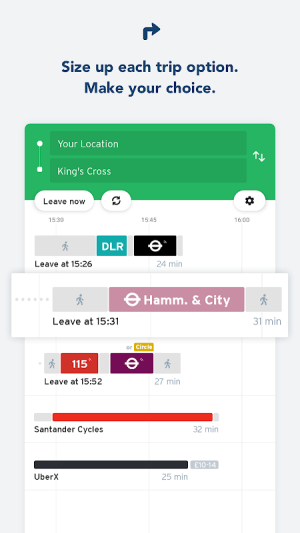 Transit - Live Transport App 5.2.6 Screen 1