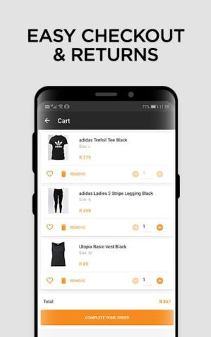 Online Shopping - Fashion - Zando.co.za 2.0 Screen 2