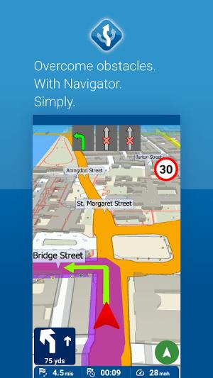 MapFactor GPS Navigation Maps 6.0.220 Screen 1