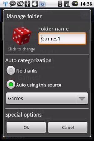 Auto App Organizer free 4.19 Screen 4
