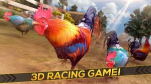 Wild Rooster Run - Frenzy Chicken Farm Race 2.11.9 Screen 6