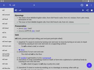English Dictionary - Offline 4.5 Screen 2