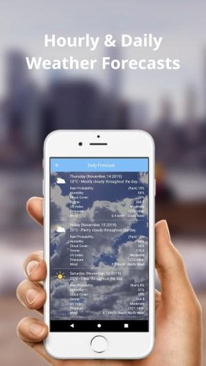 Weather Forecast Pro (Radar Weather Map) 2.5.6 Screen 2