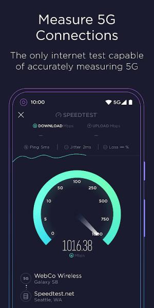 Speedtest by Ookla 4.6.6 Screen 2