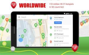Free WiFi App: passwords, hotspots 7.07.04 Screen 3