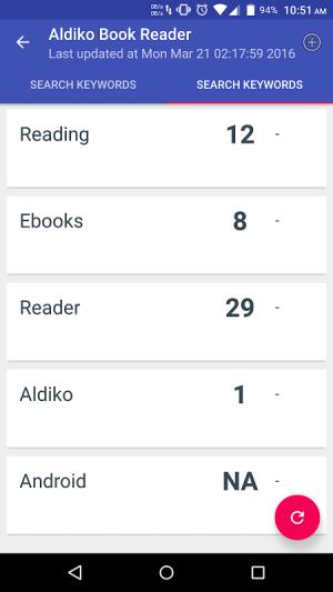 App Search Rank - ASO SERP 1.6 Screen 1