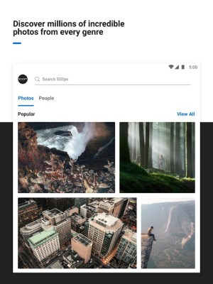 500px – Photography 6.2.2 Screen 5