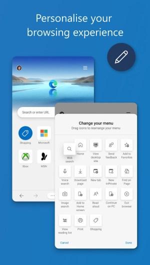 Android Microsoft Edge Screen 3