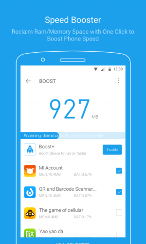 Android All-In-One Toolbox (Cleaner) Screen 3