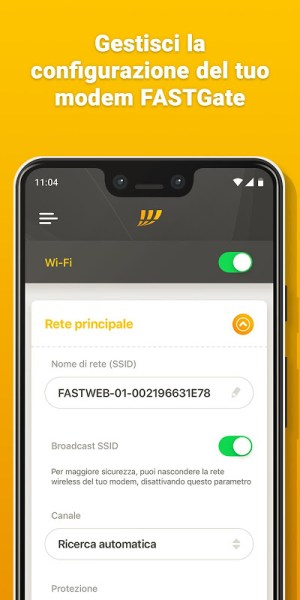 MyFastweb 4.4.18 Screen 8