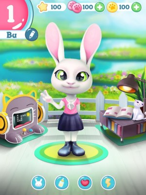 Android Bu the Baby Rabbit - Virtual pets care game Screen 11