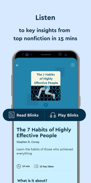 Blinkist - Nonfiction Books 8.0.0 Screen 3