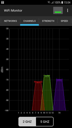 WiFi Monitor: analyzer of Wi-Fi networks 1.11 Screen 3