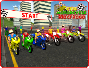 Kids MotorBike Rider Race 3D 1.0 Screen 5