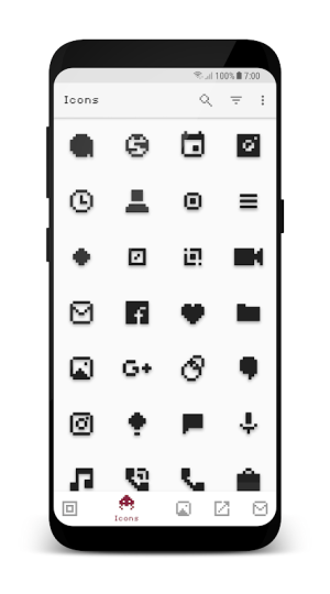 Android PixBit - Pixel Icon Pack Screen 4