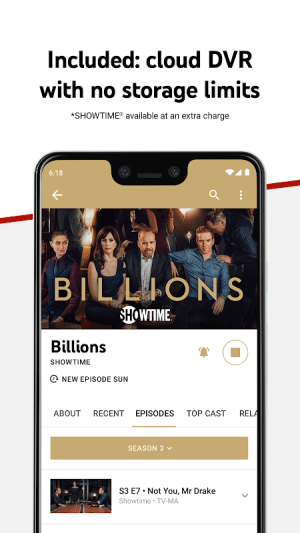 Android YouTube TV - Watch & Record Live TV Screen 2