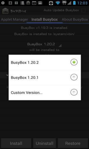 BusyBox Pro 70 Screen 5