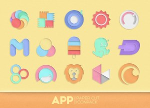 Paper Cut Icon pack New 1.0.13 Screen 4
