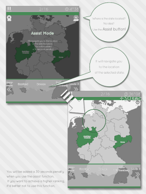 Enjoy Learning Germany Map Puzzle 3.3.1 Screen 10