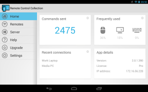 Remote Control Collection Pro 2.0.2.95 Screen 4