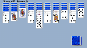 Spider Solitaire Free 1.0 Screen 2