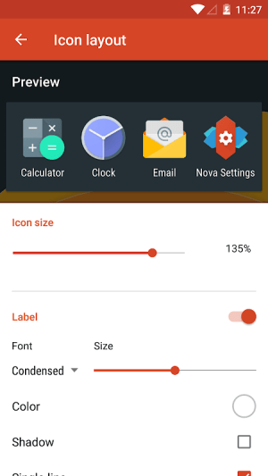 Nova Launcher 6.0-beta3 Screen 2