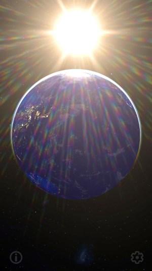 3D Earth & Real Moon. Live Wallpaper. 1.1.0 Screen 7